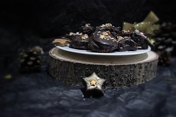 biscuits chocolatees au gout de noisette
